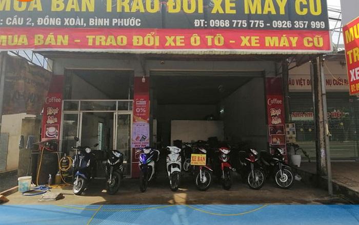 Địa chỉ thuê xe máy ở Bình Phước - Kiếm Anh