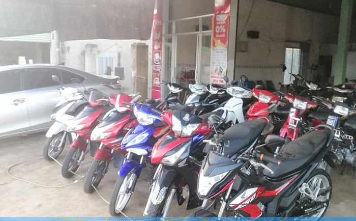 Địa chỉ thuê xe máy ở Bình Phước - Như Quỳnh