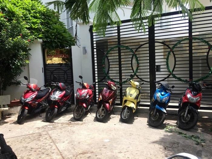 Address for motorbike rental in Vung Tau - Anh Can motorbike rental service