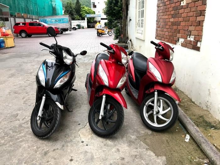 Address for motorbike rental in Vung Tau - Le No motorbike rental service