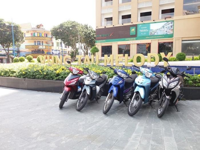 Address for motorbike rental in Vung Tau - Minh Hai motorbike rental