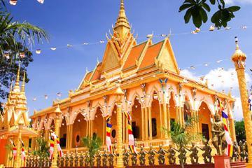 Chùa Hạnh Phúc Tăng - công trình biểu tượng văn hóa Khmer lâu đời nhất ở Vĩnh Long