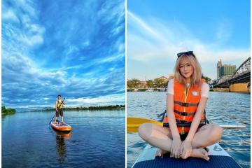 Chèo sup sông Hương cực vui và khám phá một xứ Huế thật khác