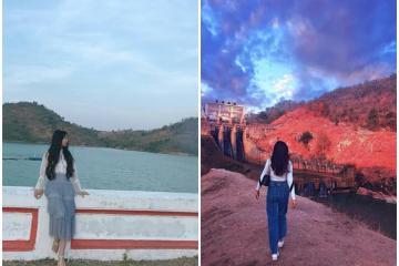 Đến Gia Lai khám phá hồ AYun Hạ - 'nàng thơ' giữa mây trời sông núi cao nguyên