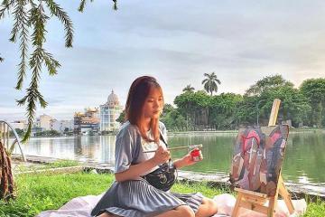 Có một hồ Vị Xuyên bình yên giữa lòng phố thị Thành Nam!