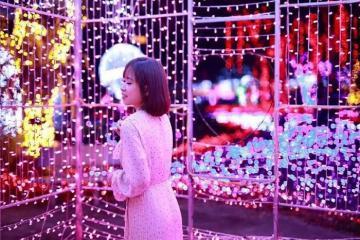 Hấp dẫn điểm đến công viên ánh sáng Pha Luông Mộc Châu