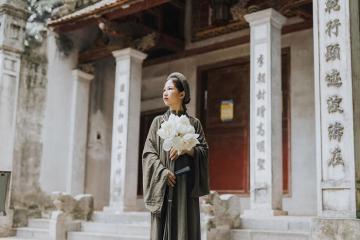 Đền Voi Phục – nét chấm phá cổ kính, trầm mặc giữa chốn Hà Thành hoa lệ