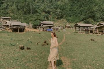 Đến thăm Hang Táu Mộc Châu - bản làng nguyên sơ không điện, không sóng điện thoại