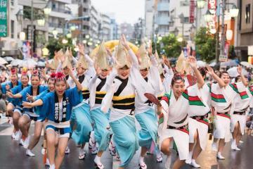Bung lụa hết mình với những lễ hội mùa hè ở Nhật Bản