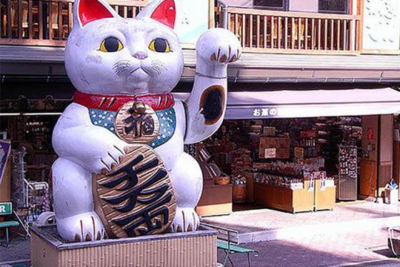 Những điều thú vị về mèo thần tài Maneki Neko ở Nhật Bản