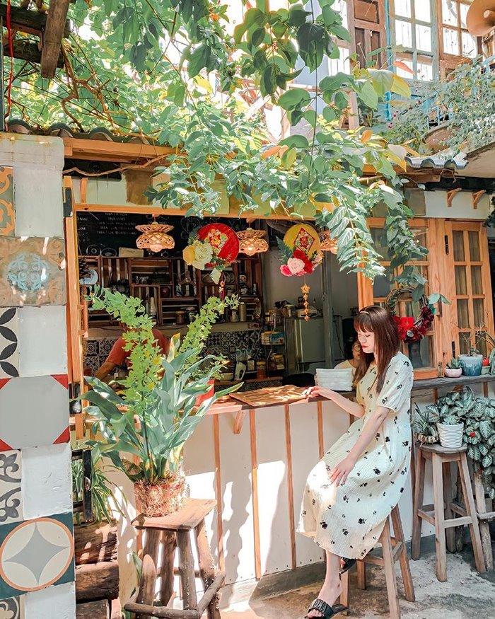 Tiệm Cà Phê Gác Xép quán cafe đẹp ở Kon Tum