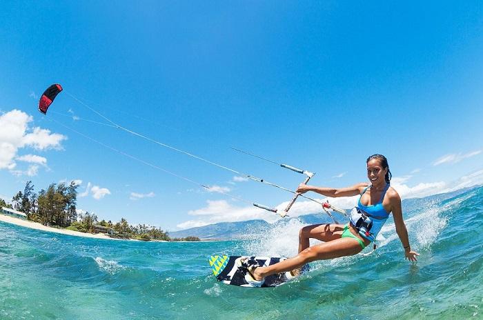 Lướt ván diều - Trải nghiệm ở Phan Thiết