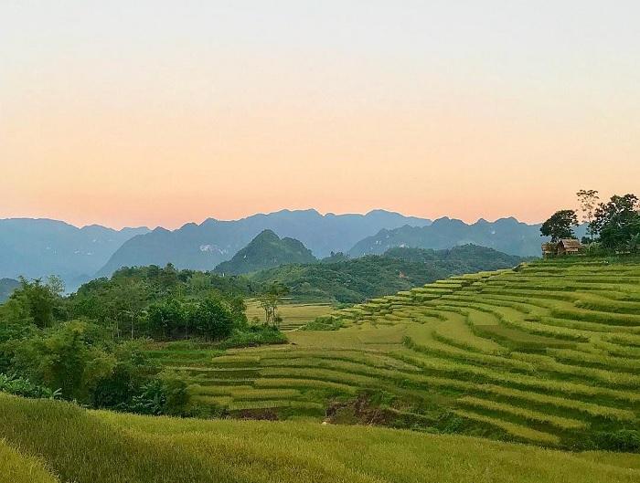 bình minh - khoảnh khắc đẹp tại thung lũng Kho Mường