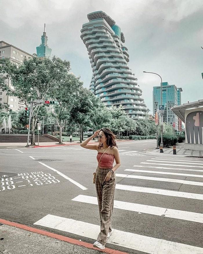 kiến trúc ADN - hình mẫu của tòa nhà xoắn ốc Đài Loan