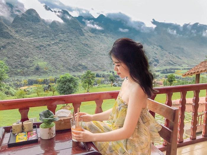 Phòng ốc ở khu nghỉ dưỡng H Mong Village