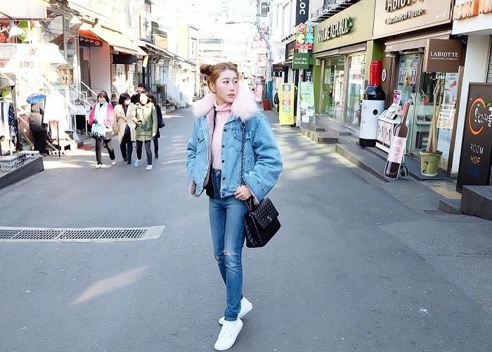 Discover the modern beauty of Korean Hongdae Street