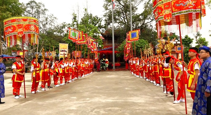 Temple Ỷ La Tuyen Quang - one of the famous spiritual tourist destinations of Tuyen Quang