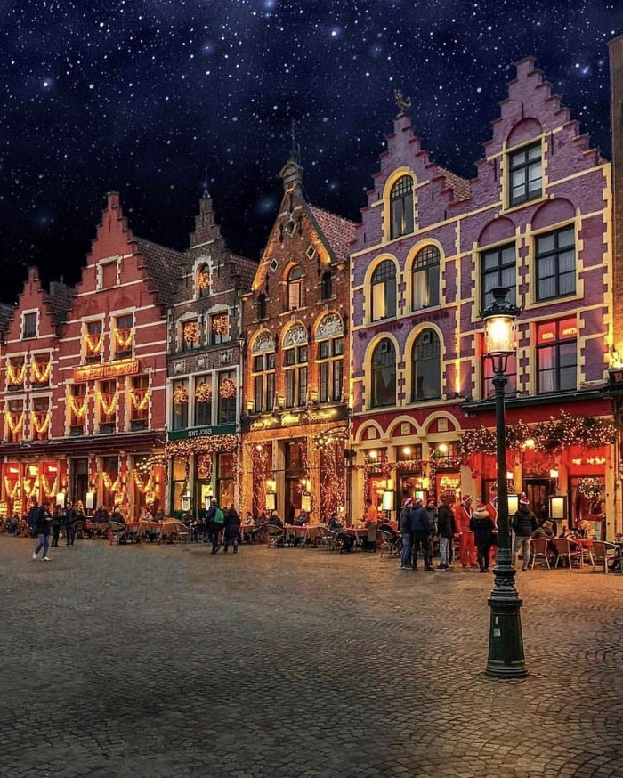 Romantic with winter in Bruges