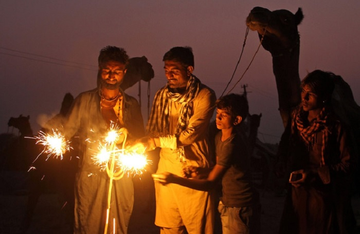 Come to India to welcome the Diwali light festival