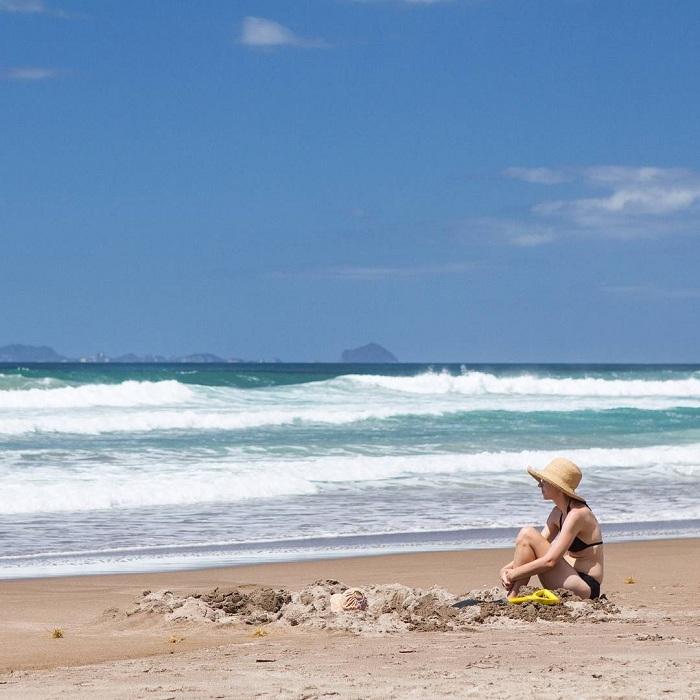 Hot Water Beach – địa điểm tắm nước nóng lý tưởng của New Zealand