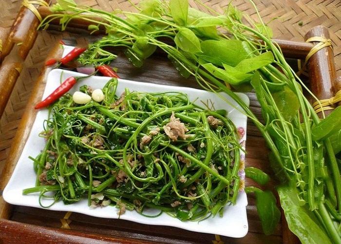 Rau dạ hiến Cao Bằng, tinh hoa ẩm thực núi rừng Tây Bắc