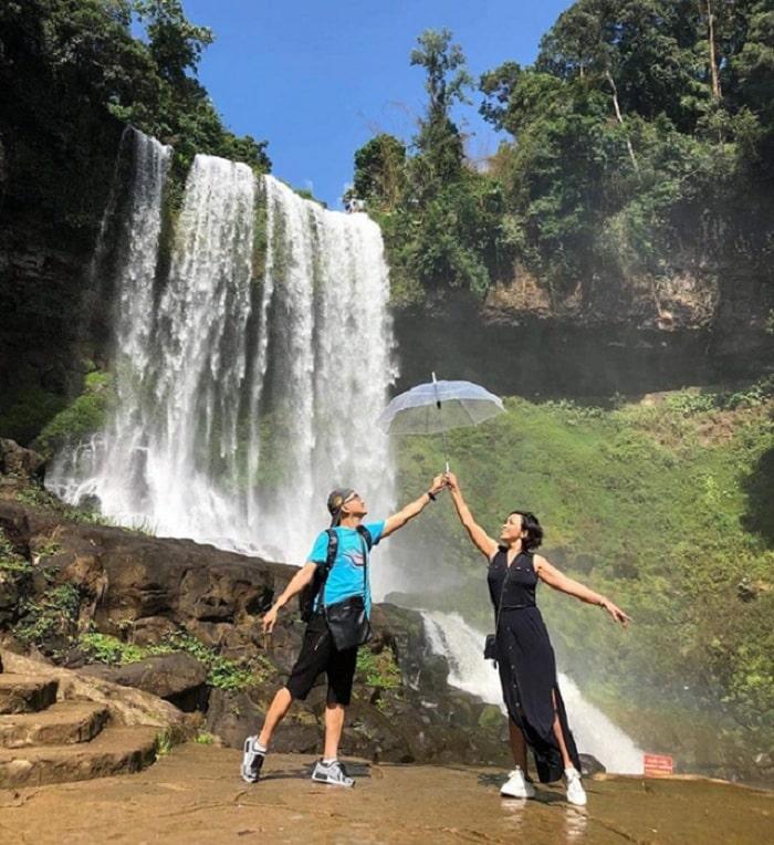 Thác nước đẹp ở Lâm Đồng