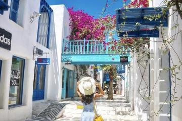 Kinh nghiệm thăm quan công viên Santorini Park chi tiết nhất
