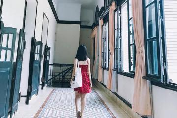 Bạch Dinh - Biệt thự trắng tinh tế theo kiến trúc Pháp