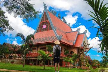 Du lịch chùa Di Đà - ngôi chùa lớn nhất thành phố Bảo Lộc