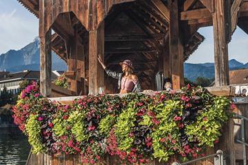 Lucerne - thành phố cổ quyến rũ miền trung Thụy Sĩ