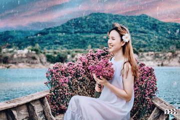 'Đứng ngồi không yên' với vẻ đẹp nên thơ hữu tình của Hồ Đá Xanh Vũng Tàu