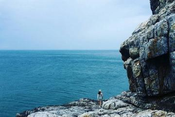 Vịnh Đầm Tre bãi biển hoang sơ, bí ẩn ít người biết ở Côn Đảo