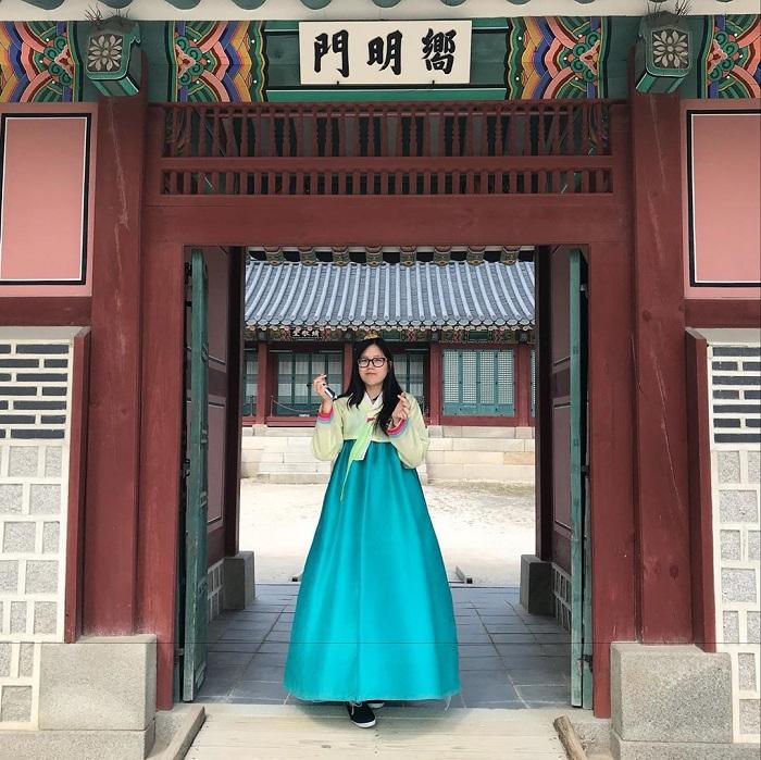 Choose peace, go to Gyeongbokgung palace to explore