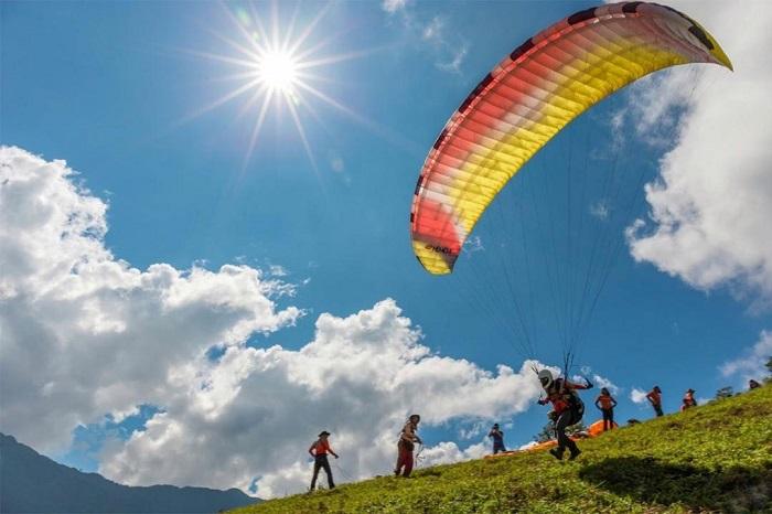 Tháng 9 về Mù Cang Chải tham gia trải nghiệm ''bay trên mùa vàng''