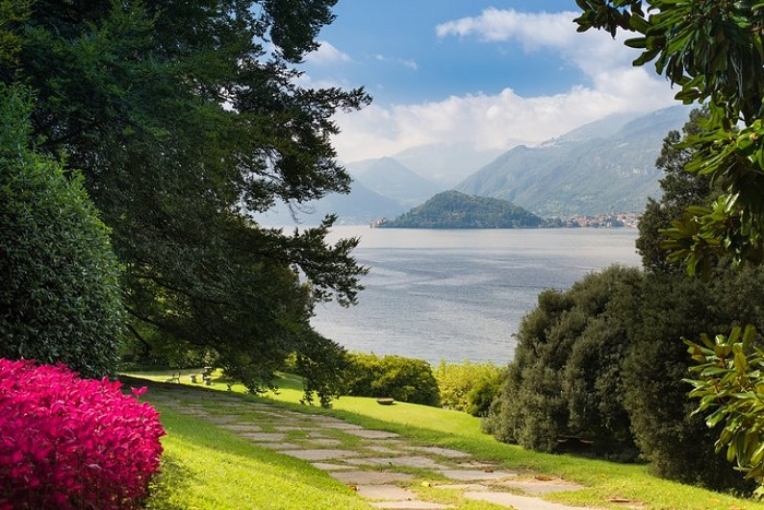 Villa Balbianello, Lenno - những khu vườn đẹp nhất ở Ý