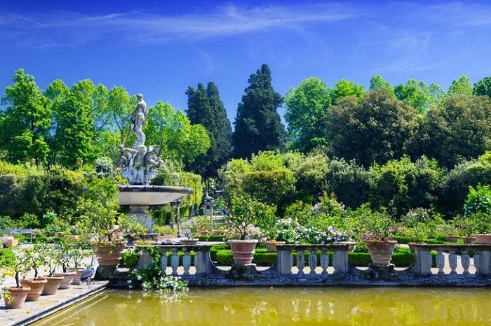 Vườn Boboli, Florence - những khu vườn đẹp nhất ở Ý