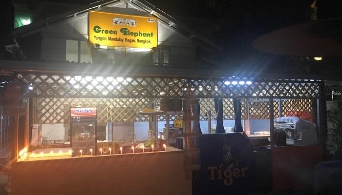 Green Elephant - Những nhà hàng nổi tiếng ở Mandalay