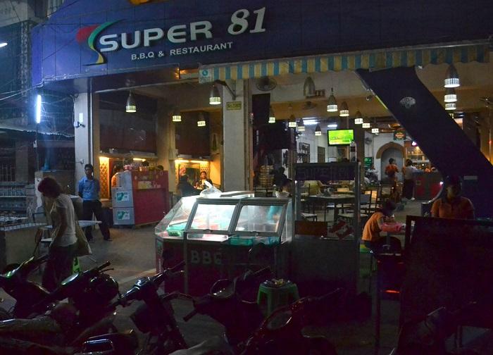 Nhà hàng Super 81 - Những nhà hàng nổi tiếng ở Mandalay