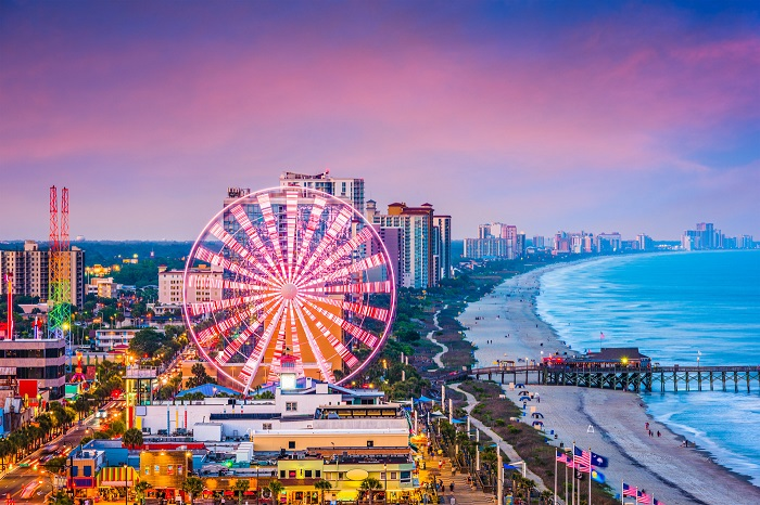 Myrtle Beach - one of the most beautiful beaches in America