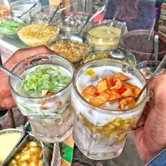 Đủ loại chè ngon - chợ ẩm thực Hải Phòng