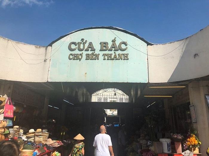 chợ Bến Thành - kiến trúc cửa Bắc