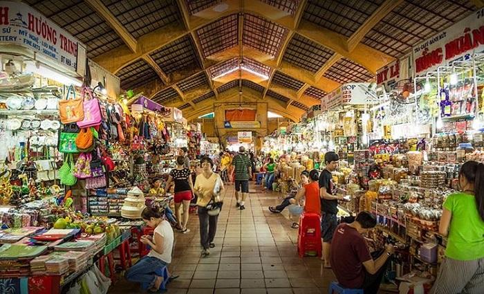 chợ Bến Thành - điều thu hút khách du lịch