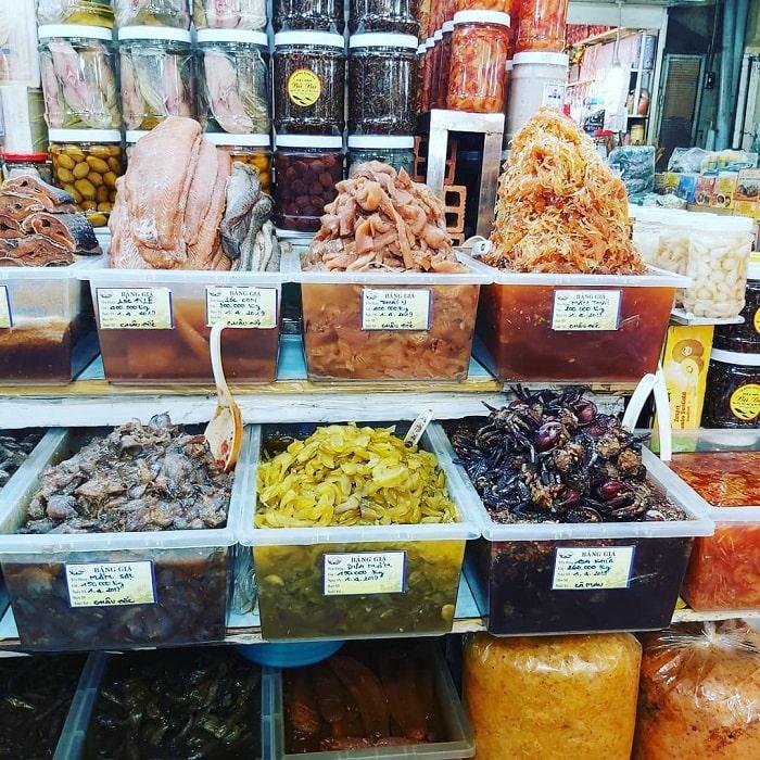 chợ Bến Thành - điều thu hút