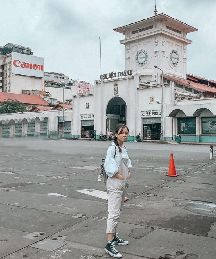 chợ Bến Thành - quận 1 Sài Gòn