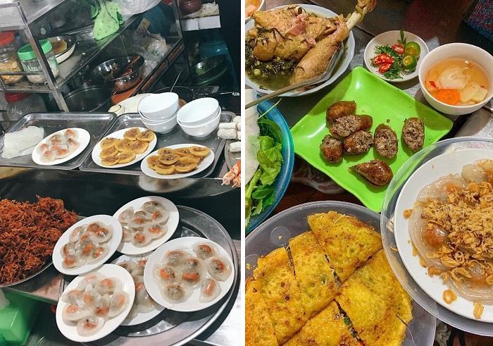 Các loại bánh -chợ ẩm thực Hải Phòng