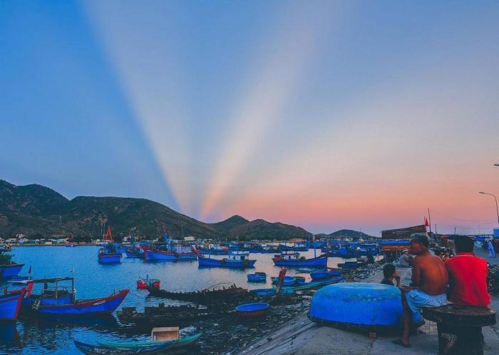 chợ Nại - điểm đến hấp dẫn tại Đầm Nại Ninh Thuận