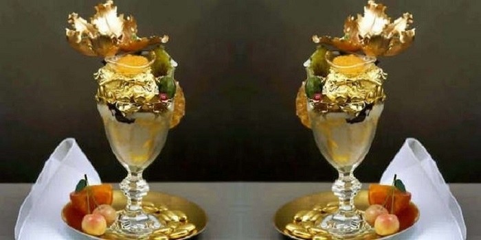 cocktaik 27.321 cũng là món ăn phủ vàng ở Dubai hấp dẫn
