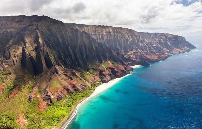 Công viên Na Pali Coast -  địa điểm du lịch nổi tiếng ở Hawaii