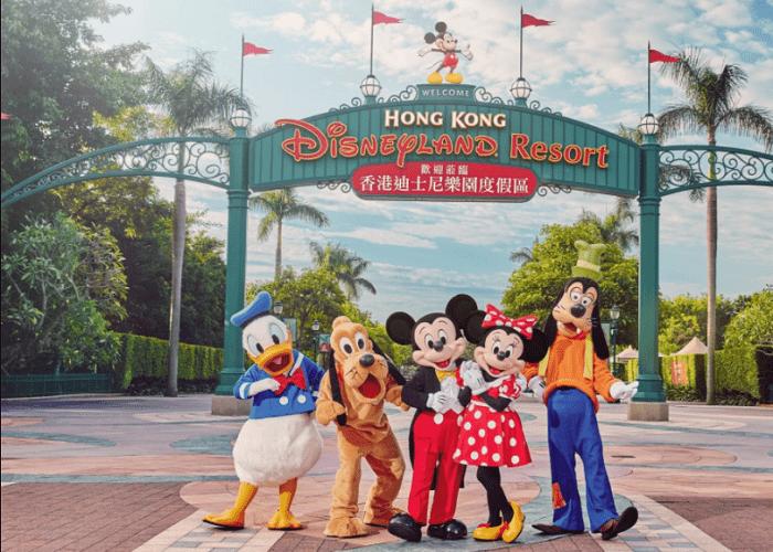 Công viên giải trí ở Hồng Kông nổi tiếng - Hong Kong Disneyland