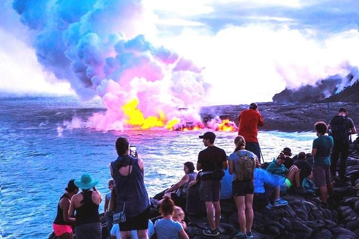 Công viên núi lửa Hawaii -  địa điểm du lịch nổi tiếng ở Hawaii